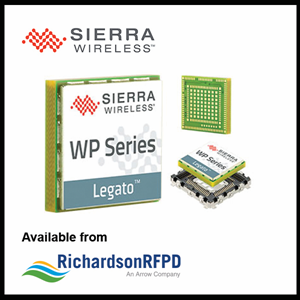 Sierra Wireless WP8548 available from Richardson RFPD